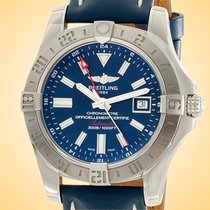 Breitling Avenger II GMT Steel 43mm Blue United States of America, Illinois, Northfield