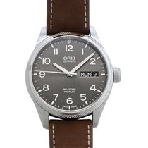 Oris Big Crown ProPilot Day Date Acier 45mm Gris