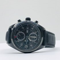 Hamilton Khaki Field pre-owned 42mm Black Chronograph Date Weekday Plastic