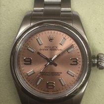 Rolex Oyster Perpetual 26 Steel 26mm Pink Arabic numerals United Kingdom, Brentwood
