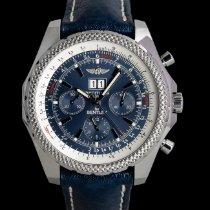 Breitling Bentley 6.75 Stahl 49mm Blau