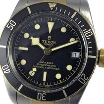 Tudor 79733N Or/Acier 2018 Black Bay S&G 41mm occasion