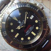Rolex Sea-Dweller usados 40mm Negro Fecha Acero