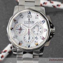 Corum Admiral's Cup (submodel) occasion 42mm Blanc Chronographe Date Acier