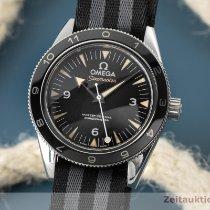 Omega Seamaster Steel 41mm Black