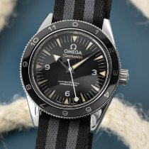 Omega Seamaster Steel 41mm Black