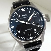IWC Big Pilot Steel 46mm Black