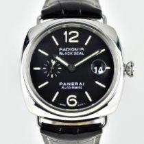 Panerai Radiomir Black Seal Steel 45mm Black Arabic numerals United Kingdom, Bradford