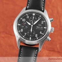 IWC Pilot Chronograph Acél 42mm Fekete