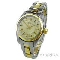 Rolex Oyster Perpetual 26 pre-owned 25mm Gold Gold/Steel