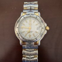 TAG Heuer 6000 Gold/Steel 38mm White