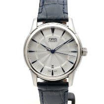Oris Big Crown Complication Acier 40mm Argent Arabes