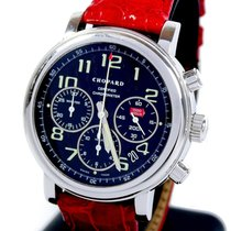 Chopard Or blanc Remontage automatique Noir Arabes 40mm occasion Mille Miglia