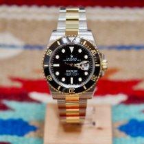 Rolex Submariner Date Gold/Stahl 41mm Schwarz Schweiz, Genève et Paris