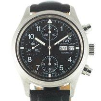 IWC Pilot Chronograph Acél 39mm Fekete Arab Magyarország, Budapest