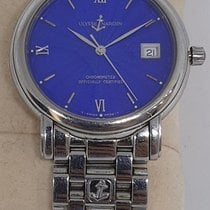 Ulysse Nardin San Marco Acier 37mm Bleu Romains France, paris
