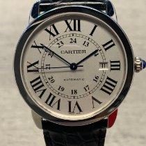 Cartier Ronde Solo de Cartier Acero 42mm Blanco Romanos España, Madrid