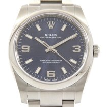 Rolex Oyster Perpetual 34 34mm Azul