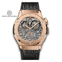 Hublot Classic Fusion 45, 42, 38, 33 mm Rose gold 45mm Transparent United States of America, New York, New York