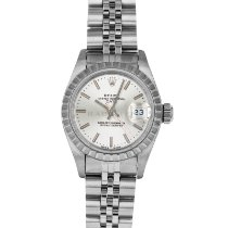 Rolex Oyster Perpetual Lady Date Steel 26mm Silver United States of America, Maryland, Baltimore, MD