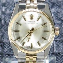 Rolex Oyster Perpetual 31 Or/Acier 31mm Argent Sans chiffres