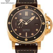 Panerai Luminor Submersible Bronze 47mm Brown No numerals United States of America, New York, New York