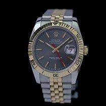 Rolex Datejust Turn-O-Graph Gold/Stahl 36mm Grau Keine Ziffern Deutschland, Rosenheim