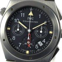 IWC Ingenieur Chronograph Stahl 34mm Schwarz Arabisch