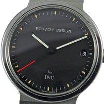 IWC Porsche Design Титан 32mm Черный Без цифр
