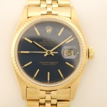 Rolex 16018 Yellow gold 1982 Datejust 36mm pre-owned