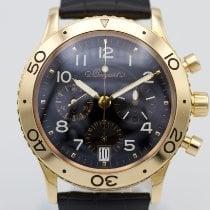 Breguet Type XX - XXI - XXII Yellow gold 39mm Black Arabic numerals