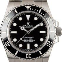 Rolex Submariner (No Date) nuevo 2020 Automático Reloj con estuche y documentos originales 114060