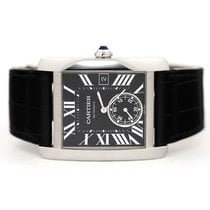 Cartier Tank MC Steel Black Roman numerals United States of America, Florida, Aventura