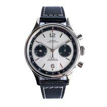 1963 mechanical Chronograph watches seagull movement Новые Сталь 38mm Механические
