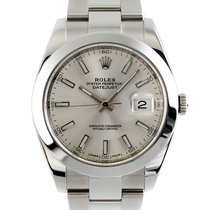 Rolex Datejust Zeljezo 41mm Srebro