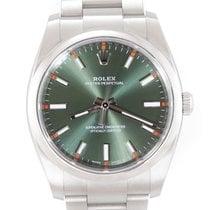 Rolex Oyster Perpetual 34 Ocel 34mm Zelená