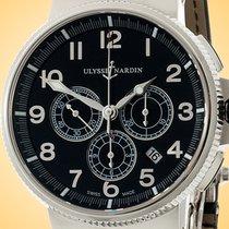 Ulysse Nardin Marine Chronograph new Automatic Chronograph Watch with original box 1503-150-62