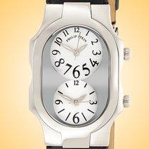 Philip Stein nuevo Cuarzo Serie limitada 41mm Acero Cristal mineral