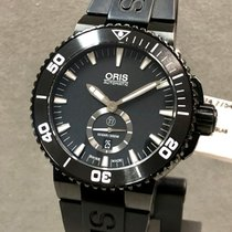 Oris pre-owned Automatic 46mm Black Sapphire crystal 50 ATM