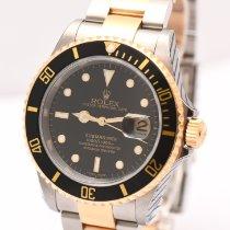 Rolex 16613 Acier 2002 Submariner Date 40mm occasion