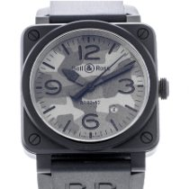 Bell & Ross BR 03 BR03-92-CBL Très bon Céramique 42mm Remontage automatique France, Bordeaux