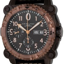 Hamilton Khaki Navy BeLOWZERO 46mm Brown Arabic numerals United States of America, Texas, Austin