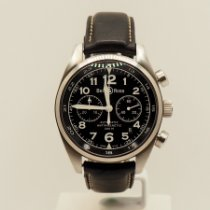 Bell & Ross Vintage Acier 42mm Noir Arabes France, Marseille