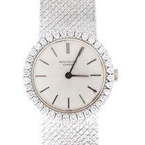 Patek Philippe Damenuhr Calatrava 24mm Handaufzug gebraucht Uhr mit Original-Papieren 1971