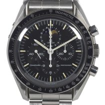 Omega Speedmaster Professional Moonwatch Moonphase Acier Noir