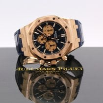 Audemars Piguet Or rose Chronographe Bleu 41mm nouveau Royal Oak Chronograph