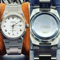 Rolex Datejust Oysterquartz Сталь 36mm Cеребро Без цифр