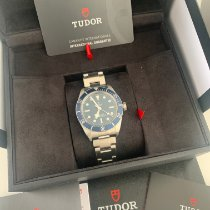 Tudor Black Bay Fifty-Eight Acier 39mm Bleu Sans chiffres France, Saint tropez