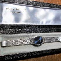 Patek Philippe Golden Ellipse Or blanc 27mm Bleu Sans chiffres France, Coux