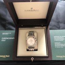 Audemars Piguet Royal Oak Chronograph Acero 41mm Plata Sin cifras